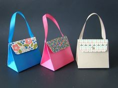Gift Bag Punch Board Purse - YouTube