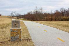 Blue-Eyed Kentucky:  The Legacy Trail in Lexington, KY