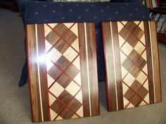 Cutting Boards for this season's shows