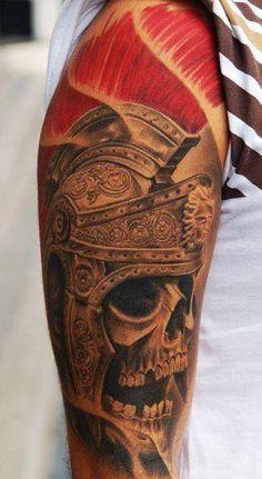 Amazing detail on this centurion