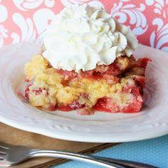 Sweet+Strawberry+Cobbler+@keyingredient