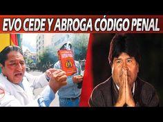 Evo Abroga el Nuevo Código Penal Para Evitar Desestabilización en Bolivia