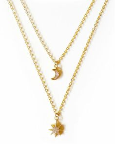 My Moon and My Stars Necklace   #streetstyle