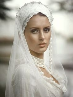 Russian Bride In Traditional Wedding Attire