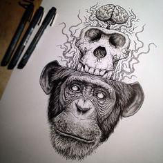 Skeleton-Exploding Illustrations : Paul Jackson
