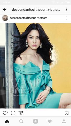 A Colorful Song Hye Kyo Shows Off Her Goddess-Like Beauty In Harper's Bazaar China's November 2014 Issue Song Hye Kyo, Beautiful Girl Photo, Beautiful Asian Girls, Most Beautiful, Korean Beauty, Asian Beauty, Asian Celebrities, Celebs, Harper's Bazaar