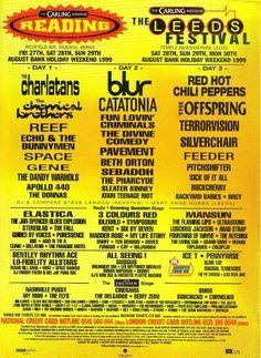 Reading Festival 1999 | Reading Festival 2015
