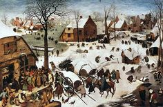 Pieter Bruegel the Elder - The Census at Bethlehem Art Print. Explore our collection of Pieter Bruegel the Elder fine art prints, giclees, posters and hand crafted canvas products Museum Of Fine Arts, Art Museum, Pieter Brueghel El Viejo, Hunters In The Snow, Renaissance Kunst, Lucas 2, Kunsthistorisches Museum, Pieter Bruegel The Elder, Hieronymus Bosch