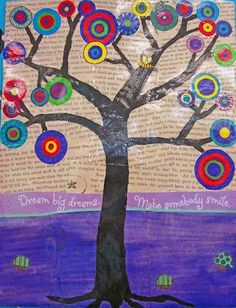 Great kid art ideas. For a mom that needs artistic inspiration.