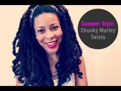 marley yarn twists | Summer Style | Chunky Marley Twists