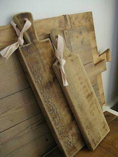 burnt wood breadboards