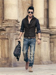 Men's brand Sleeveless Jacket Waistcoat Men Suit Vest Fashion Male British Style Slim Woolen Cotton Single breasted Vintage vest-in Vests from Men's Clothing & Accessories on Aliexpress.com | Alibaba Group