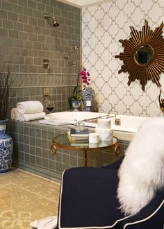 """""""Fresh Twist - What's Old is New"""" in Ann Sacks, Suite 91 by Dawn Jacobs of Artichoke Interiors"""