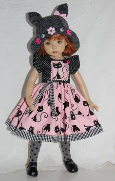 "~*~Kitty Chic Boutique~fits 13"" Effner Little Darling~*~3PC OOAK~*~Ends 9/14/14. Start bid $65.00 or BIN $100.00 Girl Dolls, Barbie Dolls, Doll Costume, Bitty Baby, Friends Fashion, Little Darlings, Red Fashion, Beautiful Dolls, American Girl"