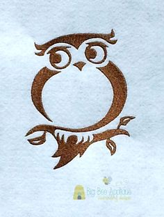 Hey, I found this really awesome Etsy listing at https://www.etsy.com/listing/193380945/owl-embroidery-design-instant-download