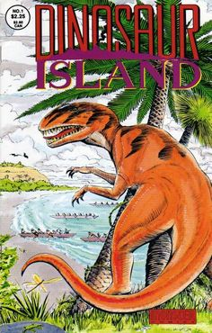 Dinosaur Island #1 and only. Steve Sullivan and I came up with this semi-anthology series for Monster Comics about people throughout history visiting an island of prehistoric creatures, ending with a reveal of how it all works.