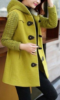 Love this outfit. 30 Modest Casual Style Outfits That Will Make You Look Great – Casual Fashion Trends Collection. Love this outfit. New Mode, Mode Abaya, Mode Outfits, Winter Wear, Beautiful Outfits, Korean Fashion, Ideias Fashion, Knitwear, Winter Outfits
