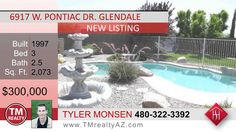 http://ift.tt/2cxnAi2 Tyler Monsen - Realtor Call (602) 301-7205 or visit TMrealtyAZ.com. Tyler is a real estate expert with over 10 years of experience selling homes in Arizona. Tyler is a talented professional who seeks to match great people with the home of their dreams. Serving Phoenix  Aguila  Apache Junction  Arizona City  Arlington  Avondale  Buckeye  Carefree  Casa Grande  Cave Creek  Chandler  Coolidge  El Mirage  Eloy  Florence  Fort Mcdowell  Fountain Hills  Gila Bend  Gilbert…