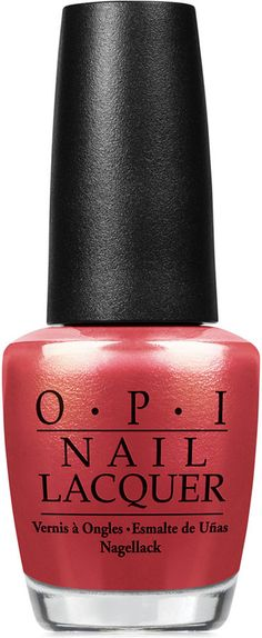 OPI Nail Lacquer, Go with the Lava Flow