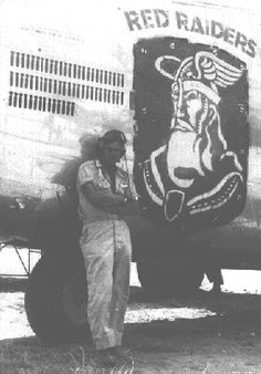 Red Raiders (B-24 Nose Art)
