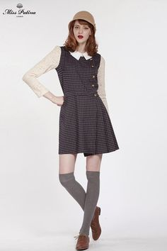Primrose Pinafore (Check) (2)