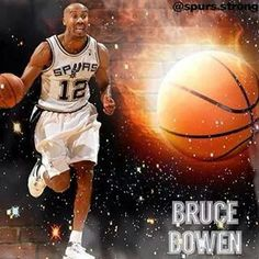 Spurs Bruce Bowen aka Mr. Potato Head himself! Lol! Bruce Bowen 3a4643678
