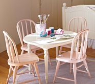 Gia's table- They are on their way here. Can't wait till she has her own little table n chairs in her room.