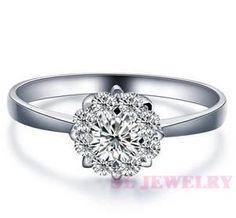 flower wedding ring - Google Search