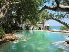 The #pool at #Peponi #Hotel in #Lamu #Kenya. Photo by Phoebe Vickers