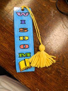 WISDOM Bible Bookmark.