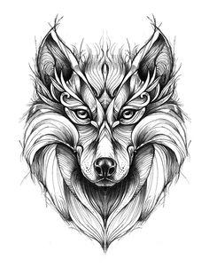Wolf by Marta Adán