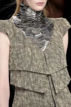 A raw, imperfect and Wabi Sabi sensibility inspire Autumn Winter 2014