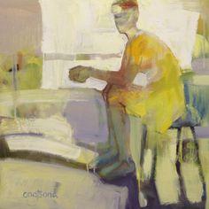 Light Bath. Melinda Cootsona. 24x24