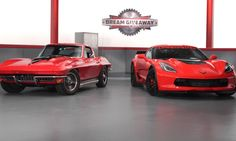 Win-Win: Behind the Scenes with 2015 Corvette Dream Giveaway / Jump over to the 2015 Corvette Dream Giveaway, VETTE TV has a special promo code VC0415C2 that scores for you 50% bonus entries on a $20 donation.