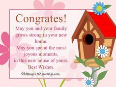 Congratulations on your new house greetings on getting a new new home messages and wishes messages greetings and wishes messages wordings and gift m4hsunfo