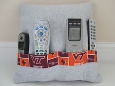 julie-k | remote control pillow pattern - wouldn't this be a great get well present with some snacks and a movie