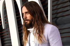 R.I.P. Jared Leto's Fabulous Ombré Hair (2012-2015) : Vanity Fair - 3/2/15 ---  ;(