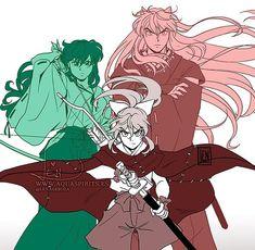 Inuyasha Funny, Inuyasha Fan Art, Kagome And Inuyasha, Awesome Anime, Anime Love, Arte Sailor Moon, Naruto Oc, Skullgirls, Manga Comics