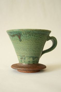 Handmade Ceramic Coffee Pour Over by themoost on Etsy, $35.00