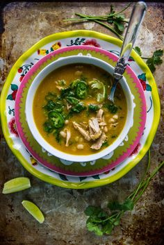 Chicken, Jalapeno, Lime Soup