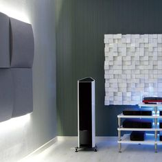 Acoustic treatment is a must, if your room is not well balanced @vicoustic #acoustic visit us soon in #copenhagen and experience the effects of treatment #havnegade #hifi #audio #denmark