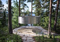Memorial for victims of Norwegian massacre opens on Utøya island/ architects 3RW