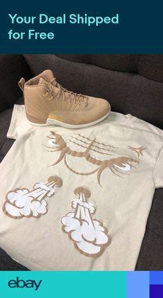 26a4a8e7efed85 Shirt Match Jordan 12 Vachetta Tan - Bullface Tee