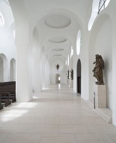 john pawson on minimalism and monks inspired by his calvin klein store - Architecture Sacred Architecture, Church Architecture, Religious Architecture, Chinese Architecture, Interior Architecture, Interior Design, Baroque Architecture, Minimalist Architecture, Architecture Tattoo