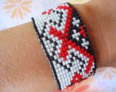 red by NYLeatherRose on Etsy