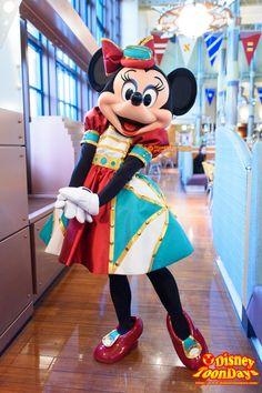 disneytoondays minnie | ホライズンベイレストランのミッキー達の新衣装と ...