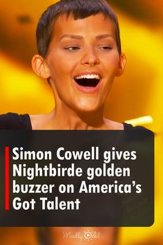 Getting a golden buzzer in America's Got Talent auditions isn't something that happens often. It was a breathtaking moment when the contestant, Nightbirde, got a golden buzzer after giving an emotional performance of her original song, It's OK. #AGT #Nightbirde #GotTalent #GoldenBuzzer #Music America's Got Talent Videos, Empowering Words, Britain Got Talent, Dramatic Effect, Tyra Banks, Simon Cowell, Life Is Tough, Buzzer, She Song