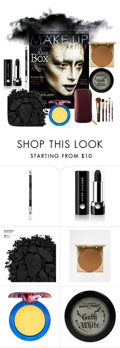 """Dark Mood"" by velvetmahya ❤ liked on Polyvore featuring beauty, The Body Shop, Marc Jacobs, Urban Decay, Stila, MAC Cosmetics, Manic Panic NYC and Bobbi Brown Cosmetics"