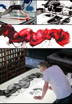 James Nares working