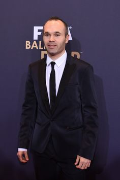 Andres Iniesta of Barcelonma and Spain attends the FIFA Ballon d Or Gala  2015 at 06b3116f4a41e